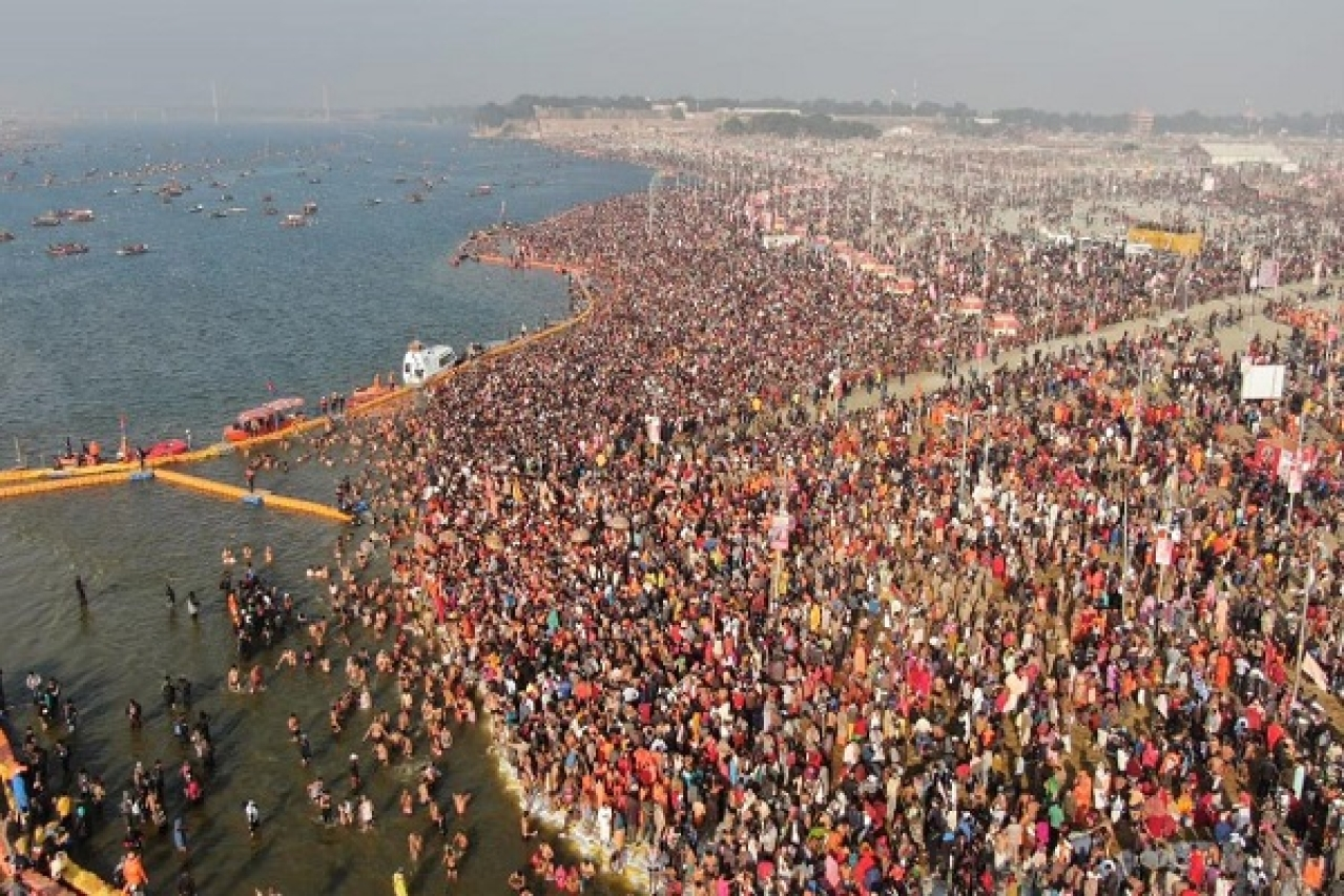 Kumbh In Prayagraj Begins With A Grand Gathering: Over 1.25 Crore Devotees Take 'Holy Snan' On Makar Sankranti
