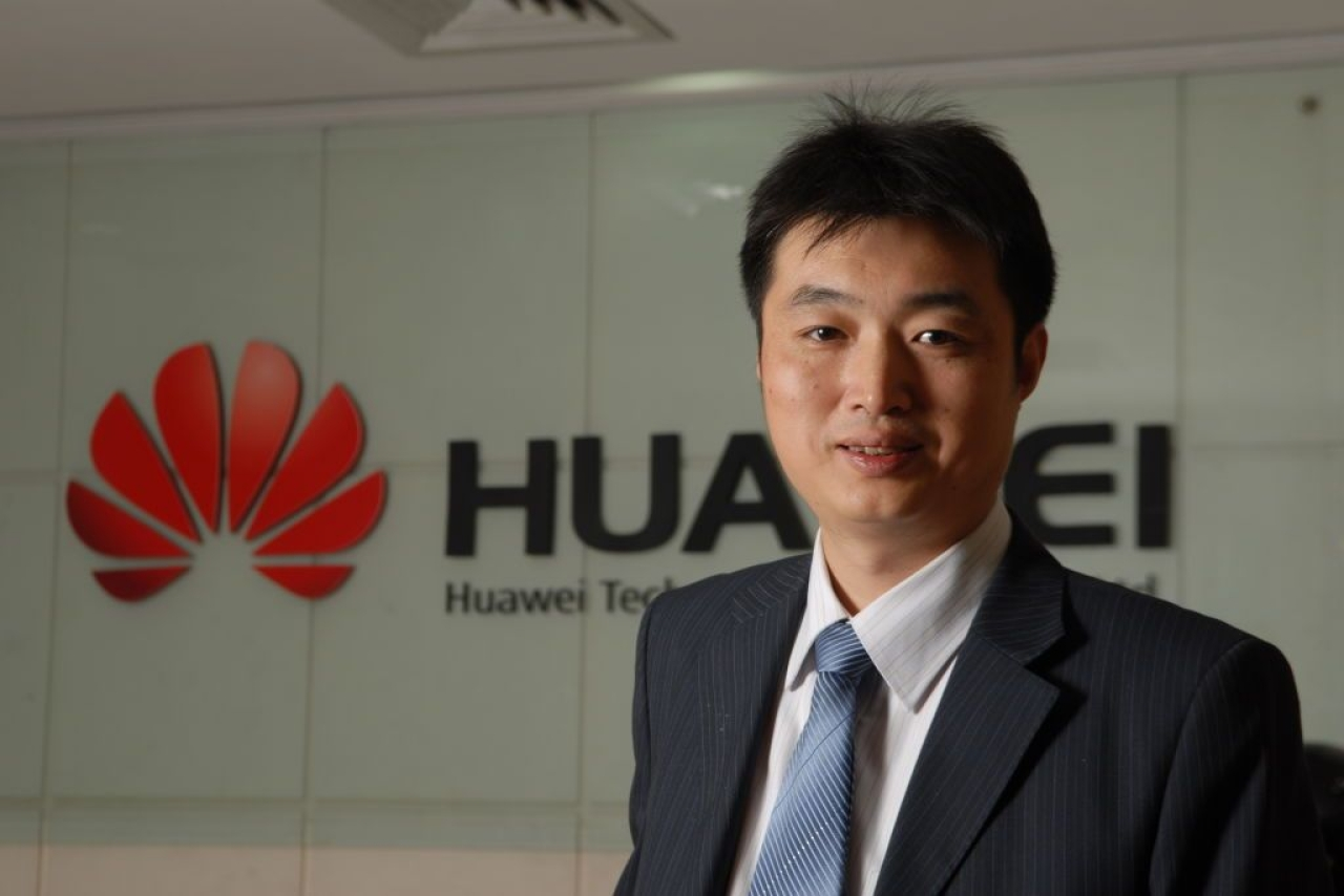 Justin Chen, chief operating officer, Huawei Technologies India Pvt. Ltd., photographed on February 05, 2010 in Bangalore (Hemant Mishra/Mint via GettyImages)