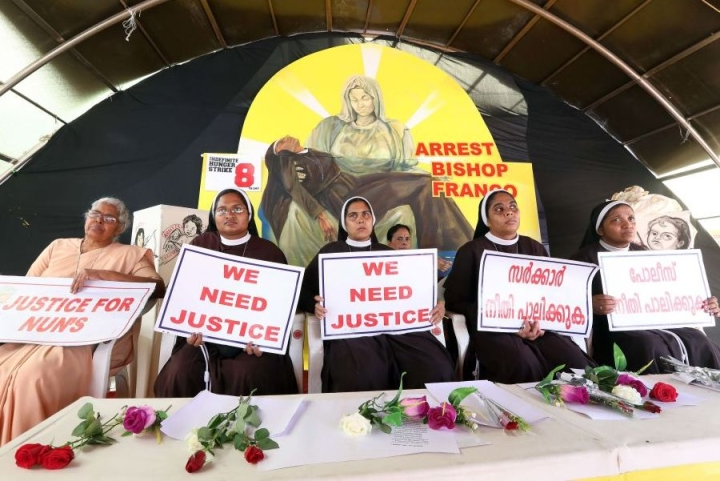 Nun Who Protested Against Rape-Accused Bishop Mulakkal Dismissed By Christian Congregation