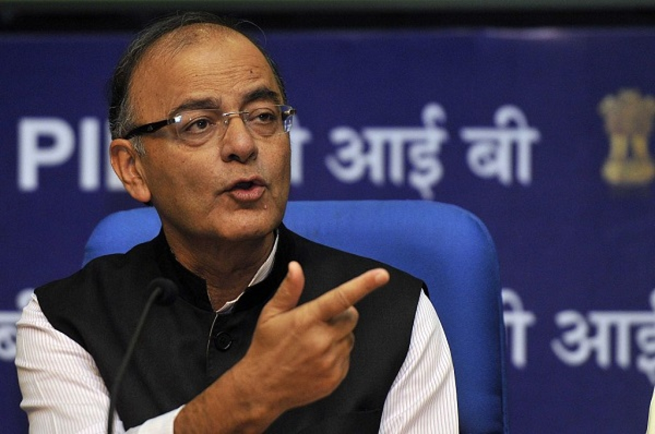 Union Finance Minister, Arun Jaitley. (Vipin Kumar/Hindustan Times via Getty Images)