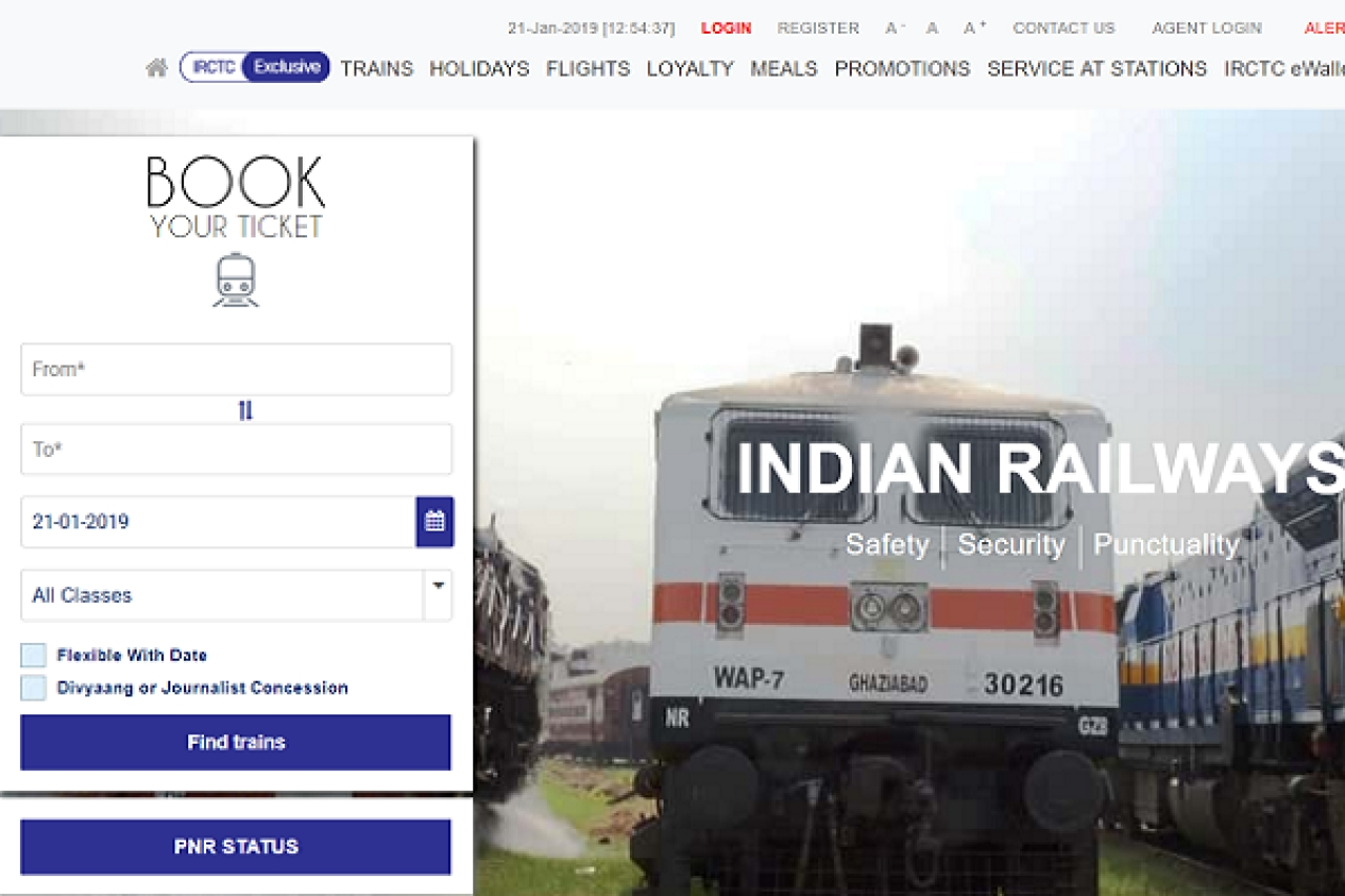 IRCTC Website Goes Down For Maintenance During Peak Tatkal Ticket Booking Period; Passengers Complain