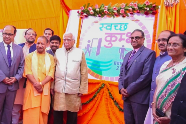 Swachh Kumbh: Yogi Government Goes All Out To Make This Year's Mela Cleanest In India's Modern History