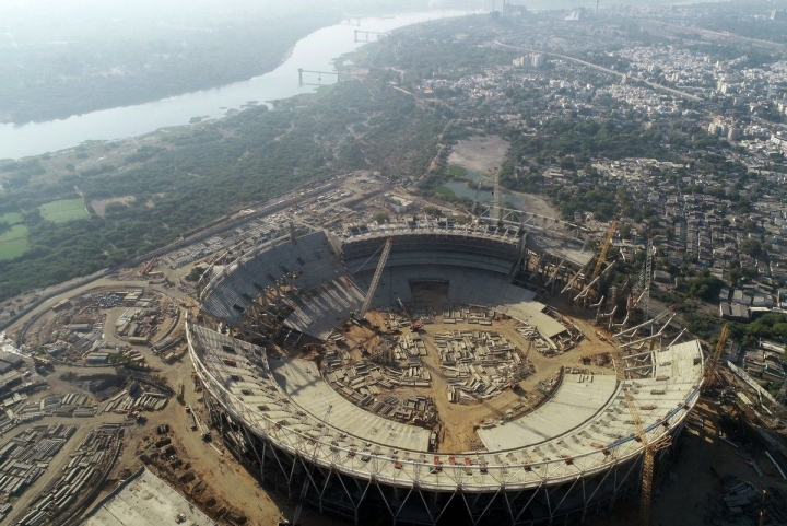 World's Largest Cricket Stadium To Be In Ahmedabad; GCA V-P Shares Pictures