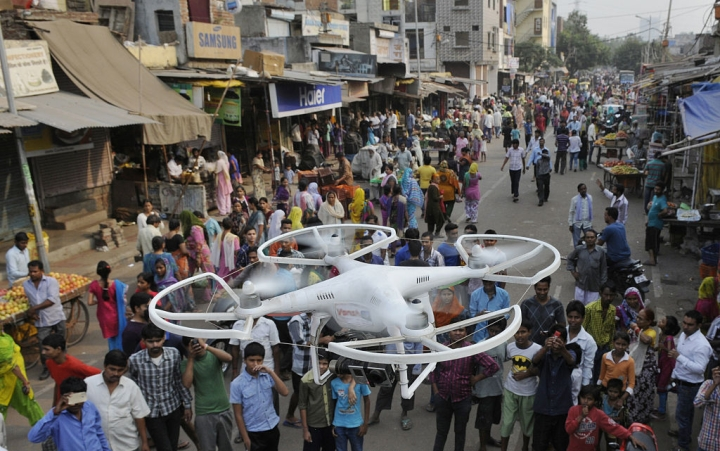 In Hyderabad, Drones Will Now Keep An Eye On Illegal Construction, And Alert The Authorities