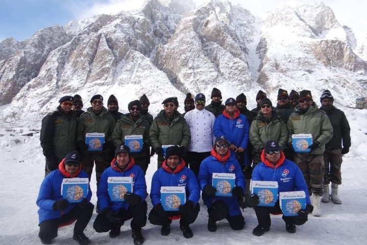 Domino's Effect: Piping-Hot Pizzas In Freezing Siachen Glacier For Indian Soldiers On Republic Day