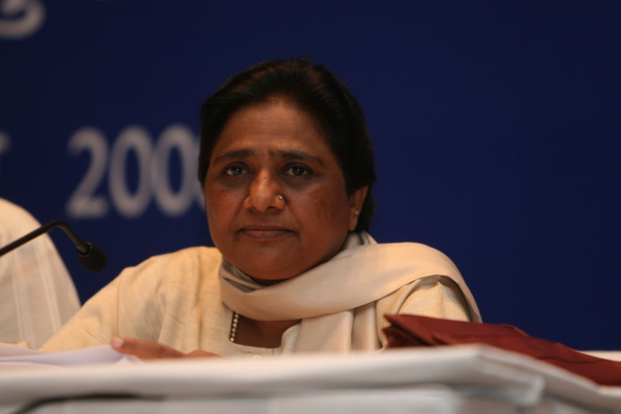 BSP supremo Mayawati (Mohd Zakir/ Hindustan Times via Getty Images)