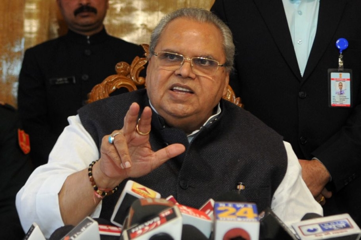 J&K Governor Satyapal Malik Says Shah Faesal Could Have Served People Better As An IAS Officer Than Politician