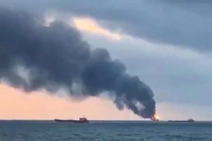 Devastating Fire Accident In The Black Sea Leaves Six Indians Dead And Six Others Missing