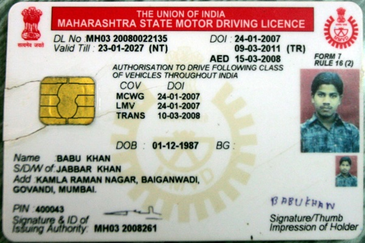 Image result for driving license india