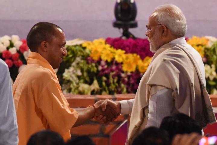 Mahagathbandhan Not Stopping Modi-Yogi: Times Now Exit Poll Predicts 56 Seats For BJP