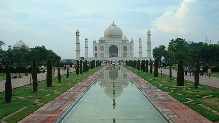 Chinese National Detained By CISF Personnel After Being Caught Flying A Drone Over Taj Mahal