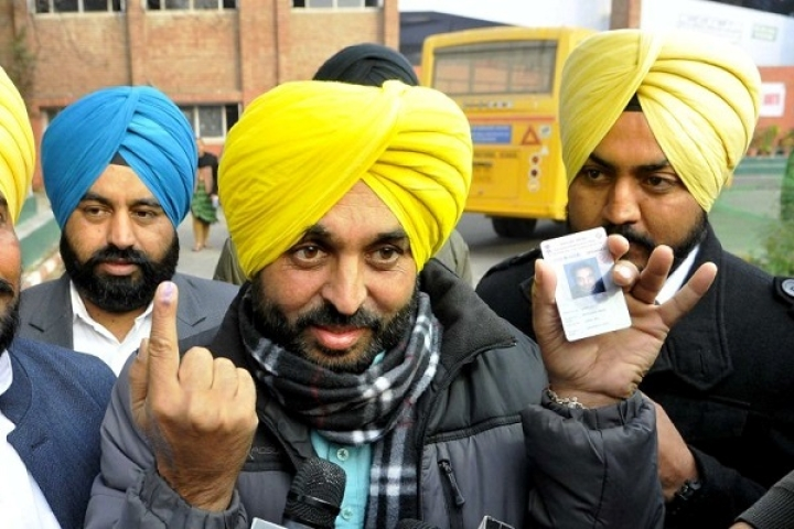 AAP MP Bhagwant Mann Who  Vowed To Quit Drinking, Says His Party Is Ready To Get Dissolved To Stop Modi
