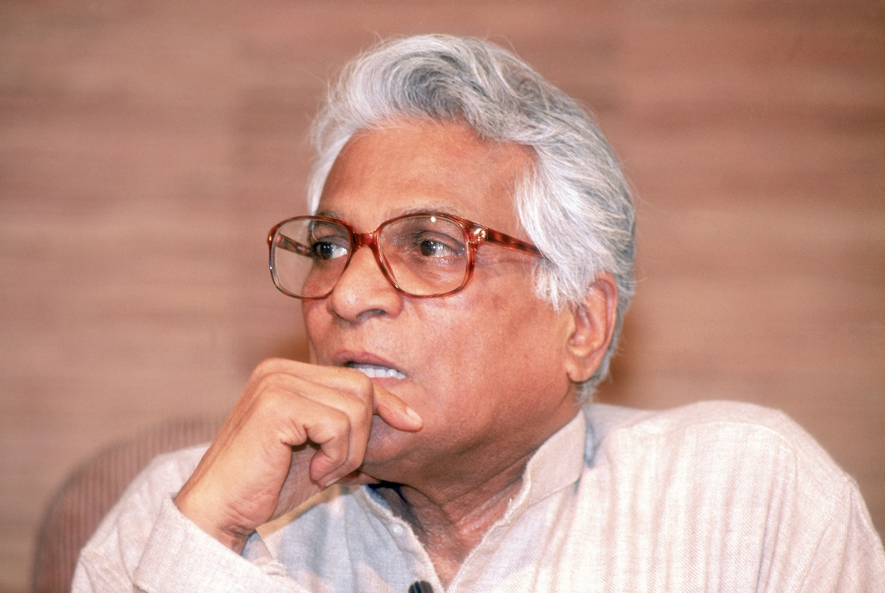 George Fernandes.  (Singh Bhawan/The India Today Group/GettyImages)