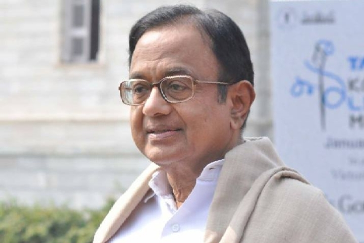 'Missing' Chidambaram Surfaces At Congress Headquarters, Expresses Shock Over Allegations Of Hiding From The Law