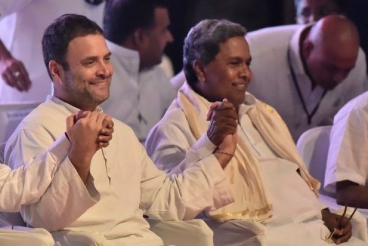 Former Karnataka CM Siddaramaiah Outrages Woman's Modesty At Congress Event In Mysuru