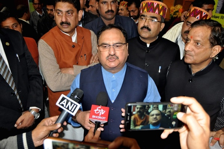 BJP Working President J P Nadda Performs Darpan For Slain Party Workers In Bengal; Says State Is Under Jungle Raj