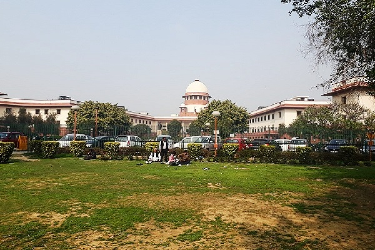 Supreme Court of India (Mohit Singh/Wikimedia Commons)