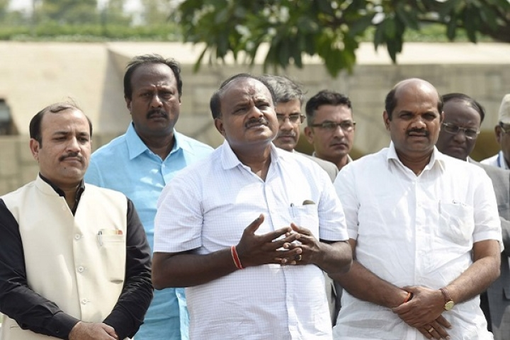 'I Am Working Like A Clerk, Not CM': Kumaraswamy Complains Against Congress Influence In Karnataka Government