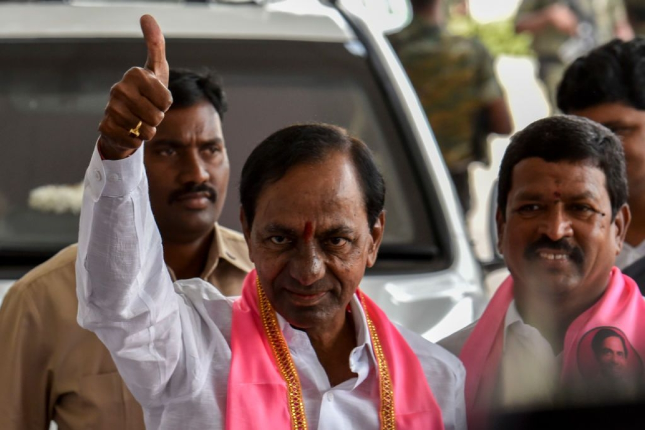 TRS CM Kalvakuntla Chandrashekar Rao (Kunal Patil/Hindustan Times via Getty Images)