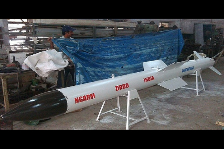 India Successfully Tests DRDO's Anti-Radiation Missile NGARM Capable Of Destroying Enemy Radar Surveillance