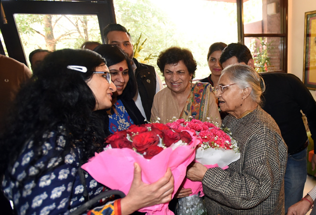 Three-Time Delhi CM Sheila Dikshit Appointed President Of Delhi PCC