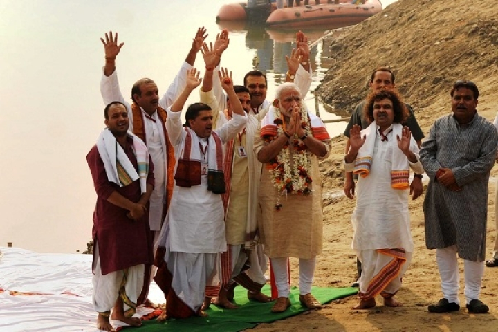 BJP Sprawls In UP, Narendra Modi Dashes Ahead In Varanasi