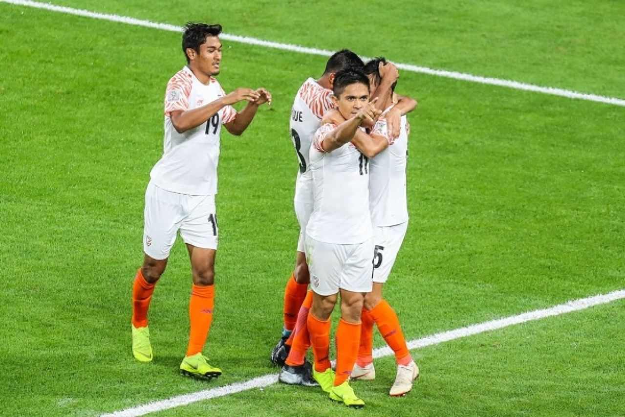 55 Year Long Wait Ends: India Thrashes Thailand 4-1 In Opening Fixture Of AFC Asian Cup 2019; Chhetri Scores Brace