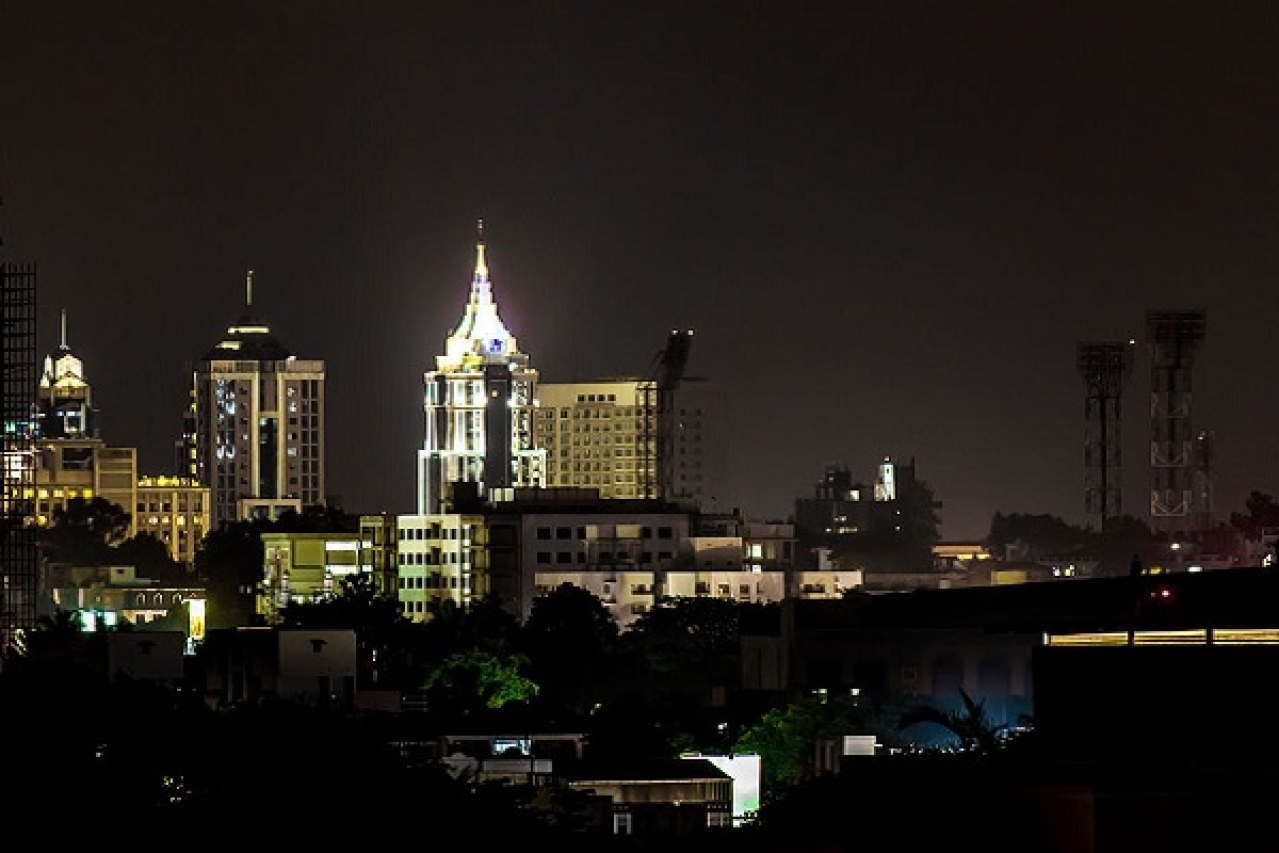 Bengaluru skyline (Saad Faruque/Wikimedia Commons)
