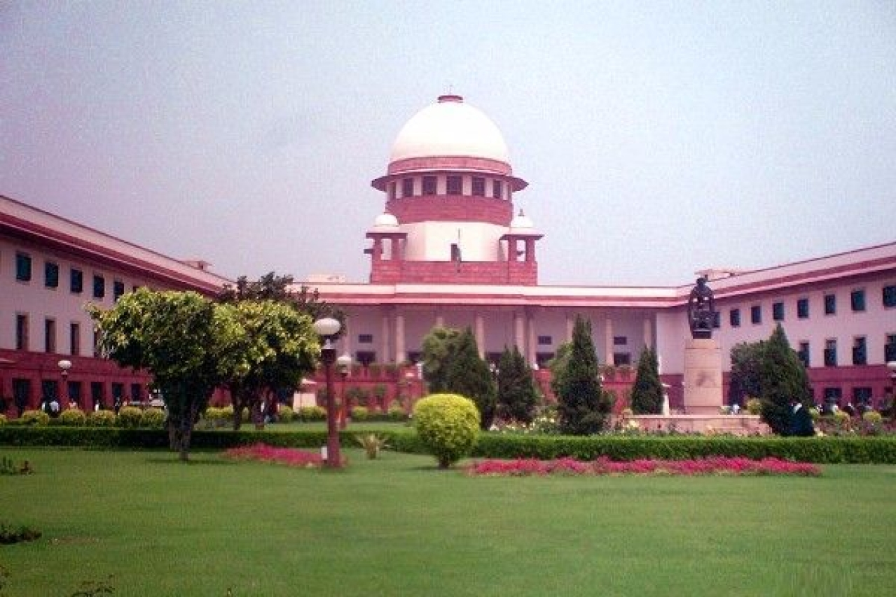 The Supreme Court of India. (Legaleagle86/Wikimedia Commons)