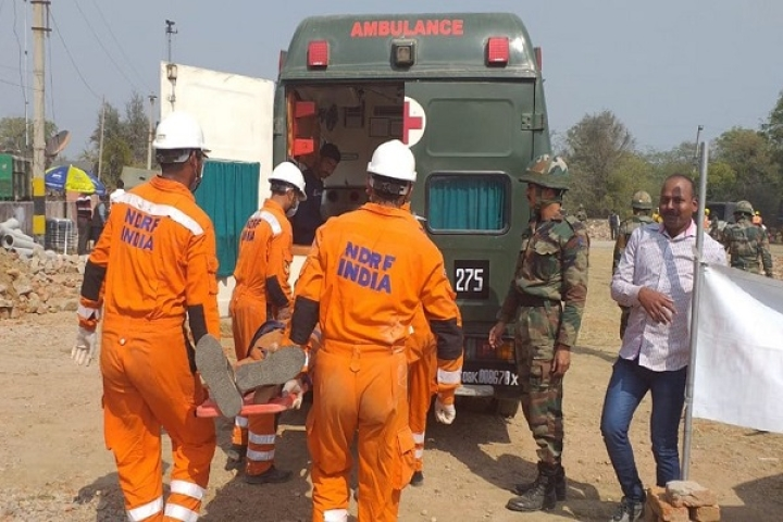 Simulation Exercise By Army, NDRF, Police And Other Agencies In Kota; Rescue And Evacuation Drills Carried Out