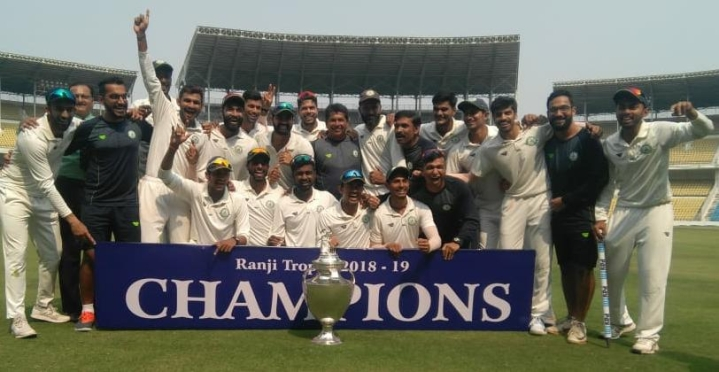 Ranji Trophy Finals: Defending Champions Vidarbha Defeat Saurashtra By 78 Runs To Clinch Title In Nagpur