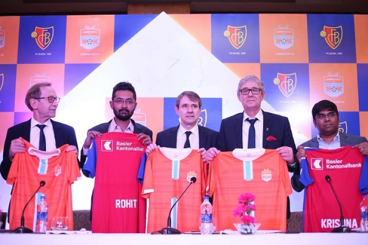 'Swiss Connection': Top Switzerland Team FC Basel Aquires 26 Per Cent Shares In Chennai City Football Club