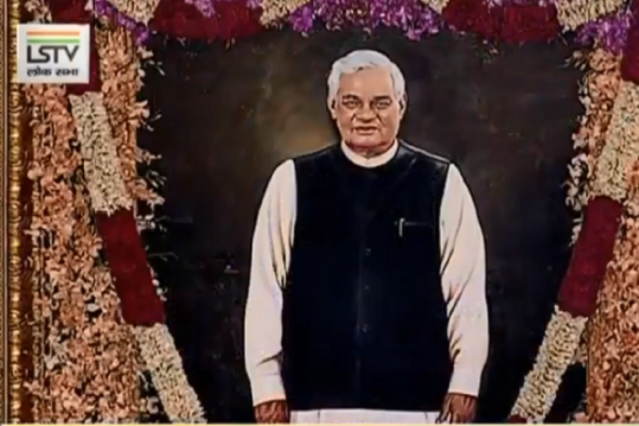A Permanent Remembrance Of Vajpayee In Parliament: Life-Size Portrait Of Former PM Unveiled By President Kovind