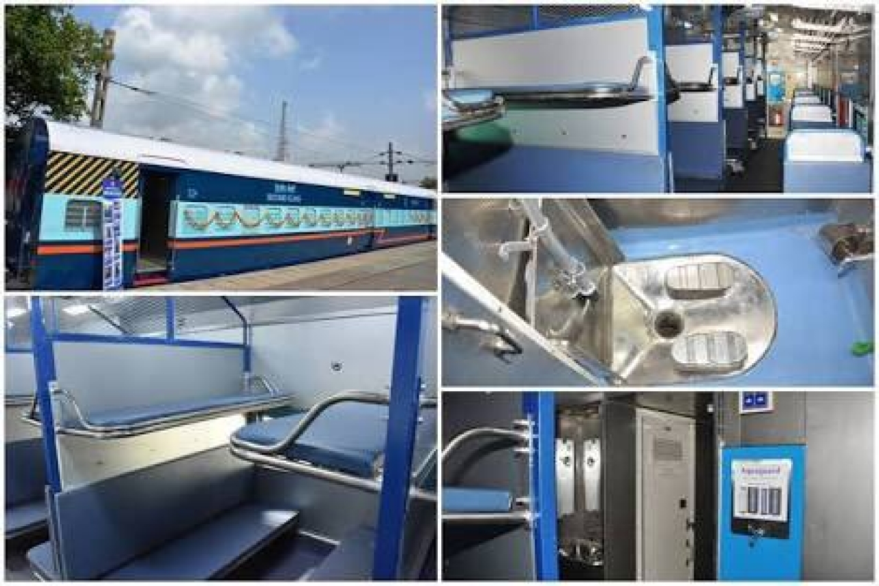 Good News For Unreserved Passengers: Indian Railways To Up Production Of Better-Equipped Deena Dayalu Coaches