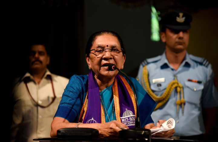 Congress Demands That MP Governor Anandiben Patel Resign; Alleges She Is Working As A BJP 'Agent' In The State