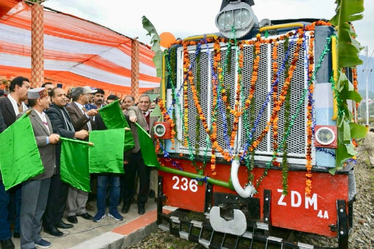 Boost To Himachal Pradesh Tourism: Paprola-Pathankot Express Train Flagged Off; To Reduce Travel Time By Two Hours