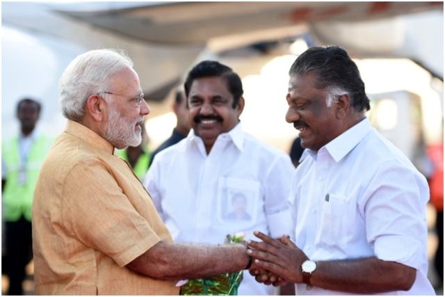 How The NDA Has Gained An Edge In Tamil Nadu By Roping In AIADMK and PMK In Its Fold