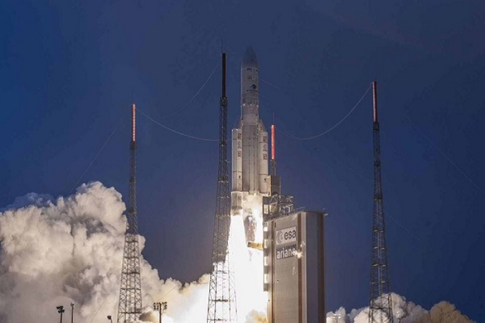 Watch: India's Latest Satellite GSAT-31 Successfully Launched; To Play Vital Role In Communication Services