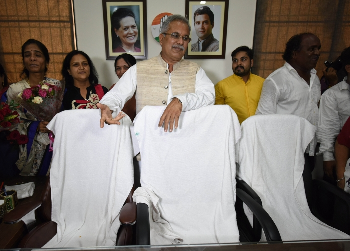 A House Divided? Chattisgarh CM Bhupesh Baghel Joins Group Demanding Rahul Gandhi To Return As Congress President