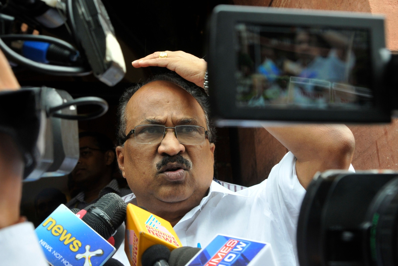 Former Union Minister of State for Food and Civil Supplies KV Thomas (Vipin Kumar/Hindustan Times via Getty Images)