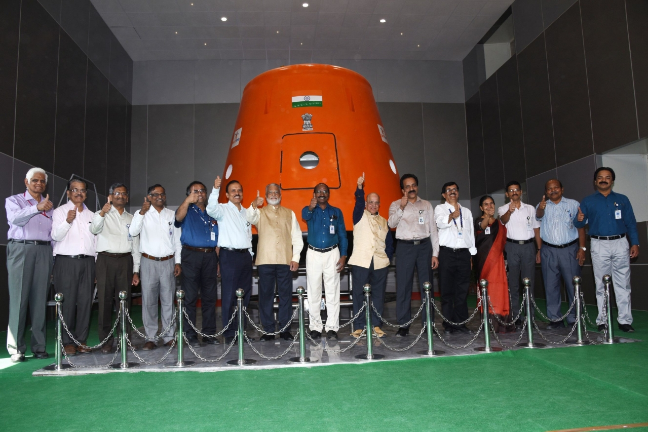 ISRO Tasks Indian Air Force To Select, Train 10 Candidates For India's First Human Spaceflight Programme 'Gaganyaan'