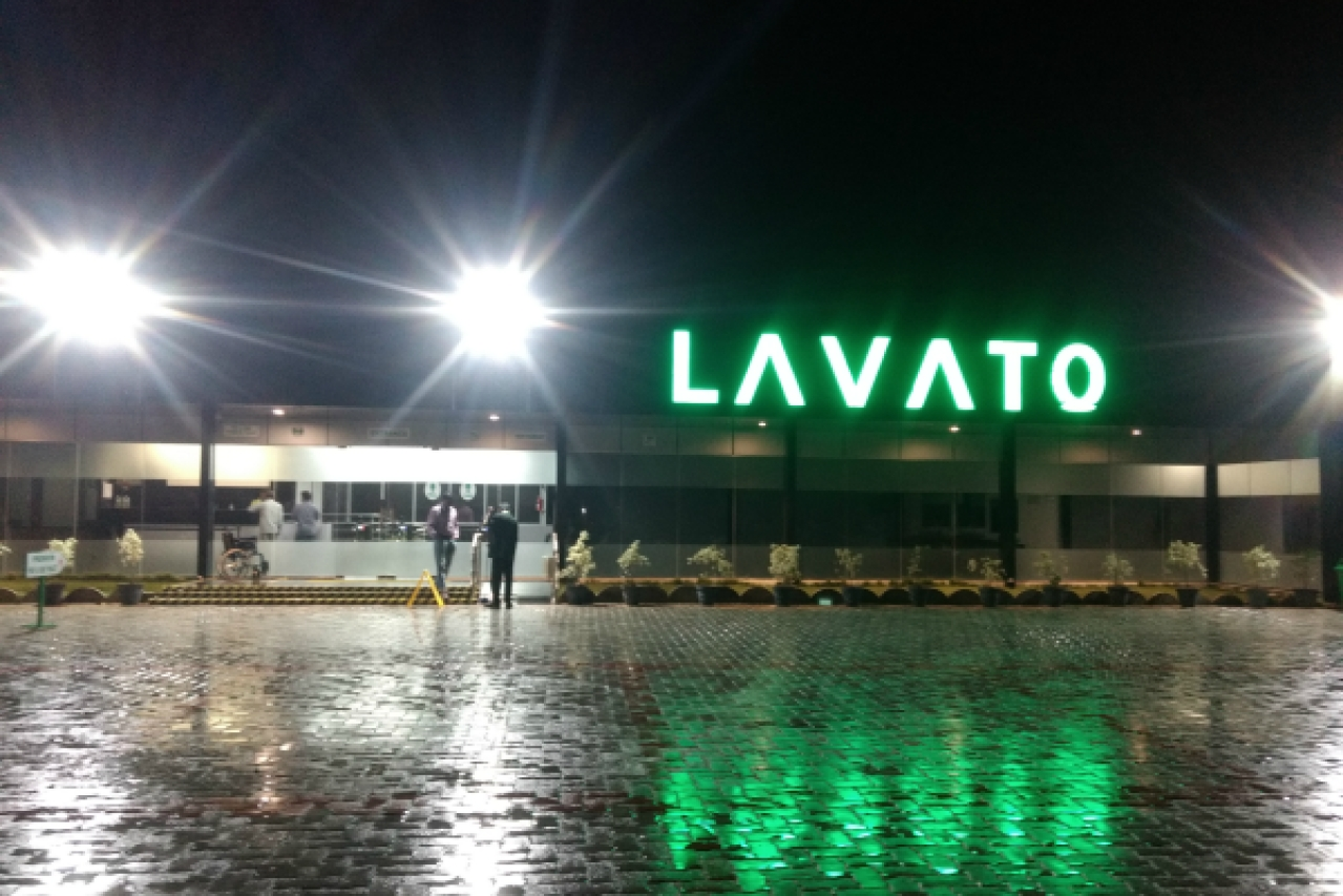 The exterior of Lavato's first outlet at Krishnagiri (Srikanth Ramakrishnan/Swarajya)
