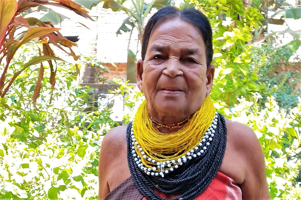 Sukri Bommagowda of the singing Halakki tribe