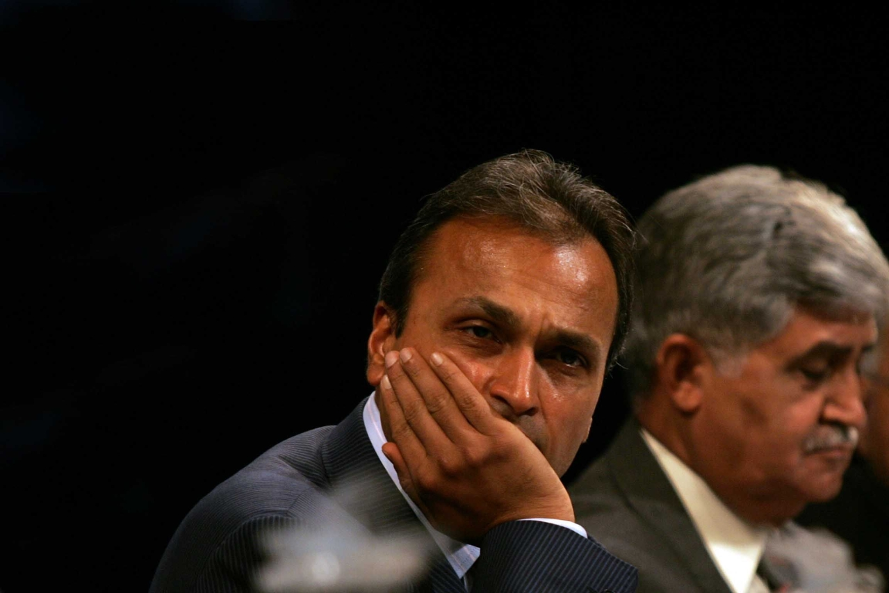 Anil Ambani (Kapil Patil/Hindustan Times via Getty Images)