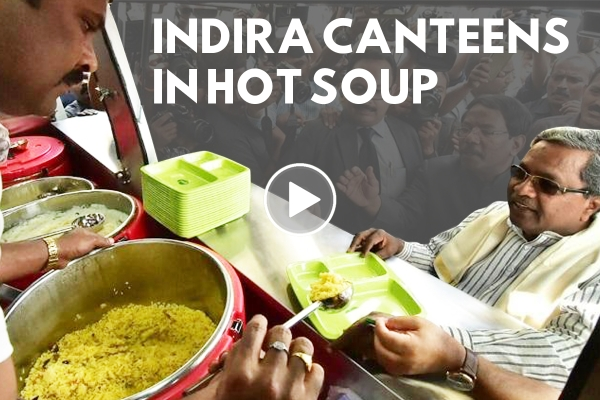Things Are Going From Bad To Worse For Indira Canteens