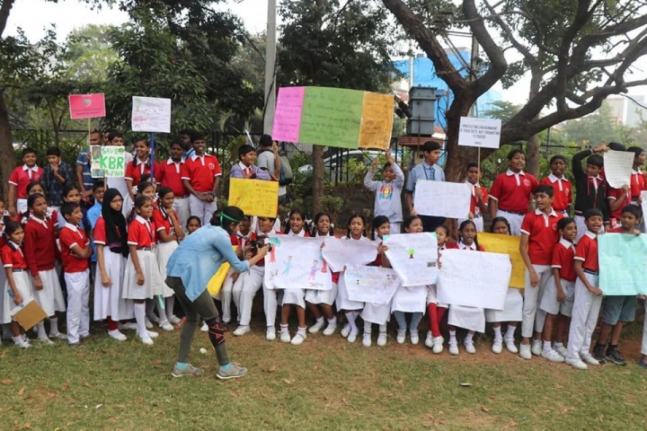 Is It A Little Too Early? Hyderabad Children Join Global School Strikes Against Climate Change