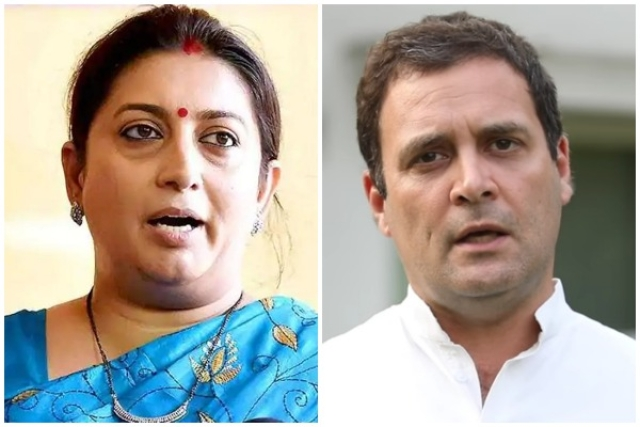 Why The Smriti Irani Versus Rahul Gandhi Battle Is The Battle Of New India Versus The Old