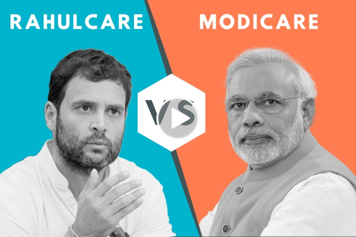 Modicare Vs Rahulcare: Why Congress' 'Right To Health Care'  Would Be A Bad Pill To Take