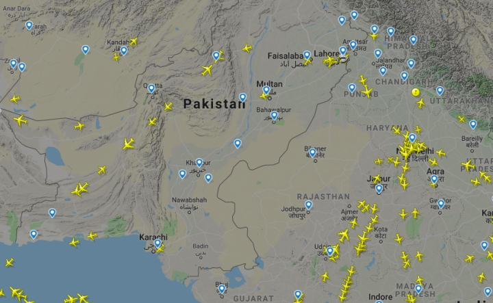 Pakistan's Airspace Along Border Still Closed, Will Respond 'Proactively' To 'Perceived' Threats: IAF
