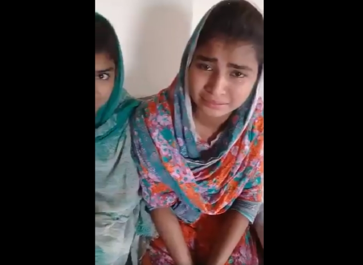 Watch: Multan Hindu Girls Plead For Protection From Islamists In 'Naya Pakistan' After Forced Conversion Case In Sindh